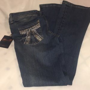 Seven7 Slim Boot Jeans size 8 NWT